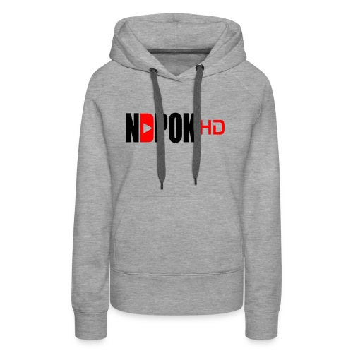 NdpokHD channel - Women's Premium Hoodie