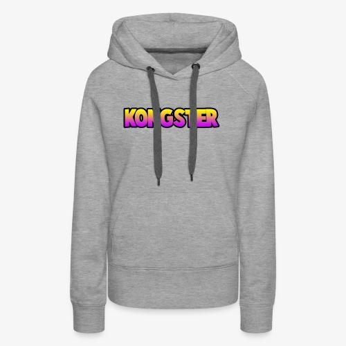 Kongster - Women's Premium Hoodie