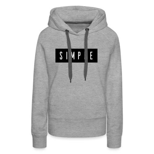 Simple - Women's Premium Hoodie
