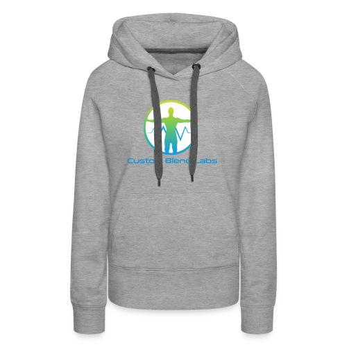 Custom Blend Labs Logo - Women's Premium Hoodie