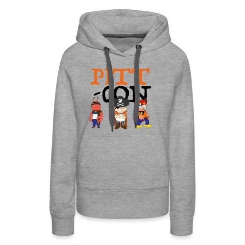 PittCon 2017 Pirate Squad Logo - Women's Premium Hoodie