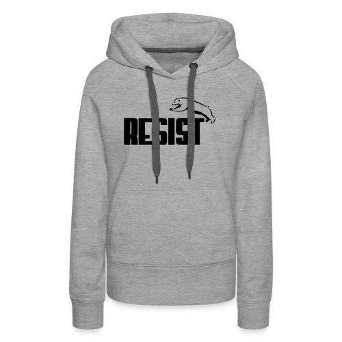 RESIST BEAR - Women's Premium Hoodie