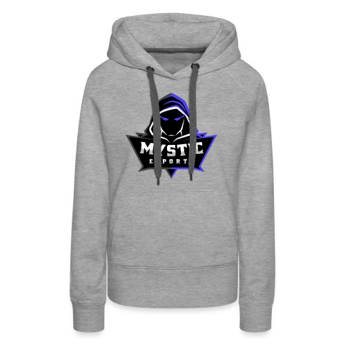 Mystic eSports Logo Purple - Women's Premium Hoodie
