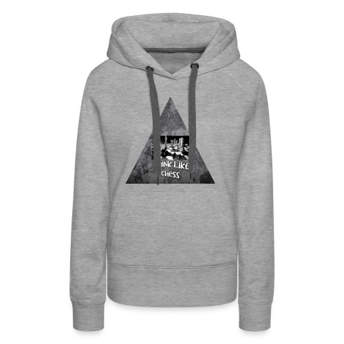 Think Like Chess Logo - Women's Premium Hoodie