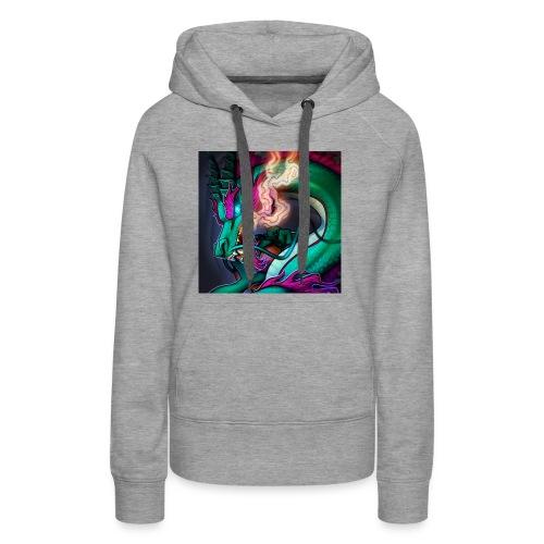 DragonU2Death Stream Merchandise. - Women's Premium Hoodie