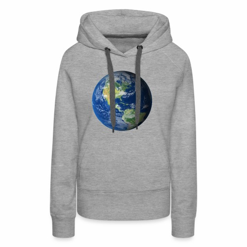 Get On Our Planet Gym Apparel - Women's Premium Hoodie
