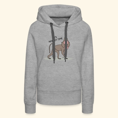 It's Monkey Time - Women's Premium Hoodie