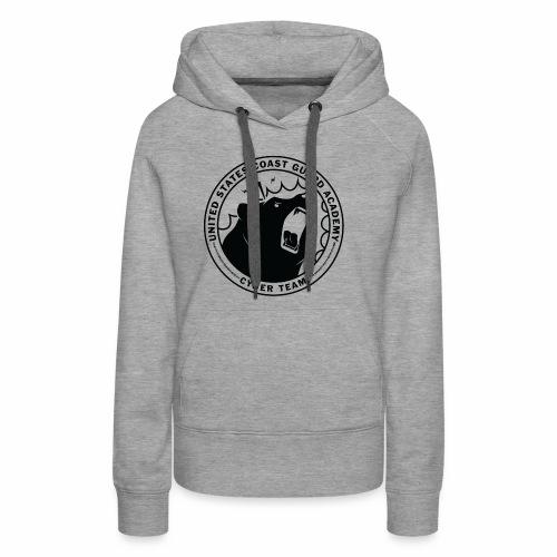 Black Cybear Logo - Women's Premium Hoodie