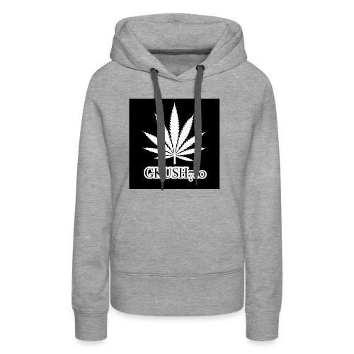 Weed Leaf Gkush710 Hoodies - Women's Premium Hoodie