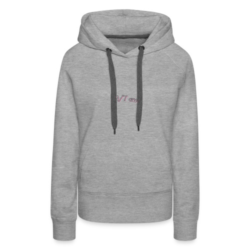 youtube label - Women's Premium Hoodie