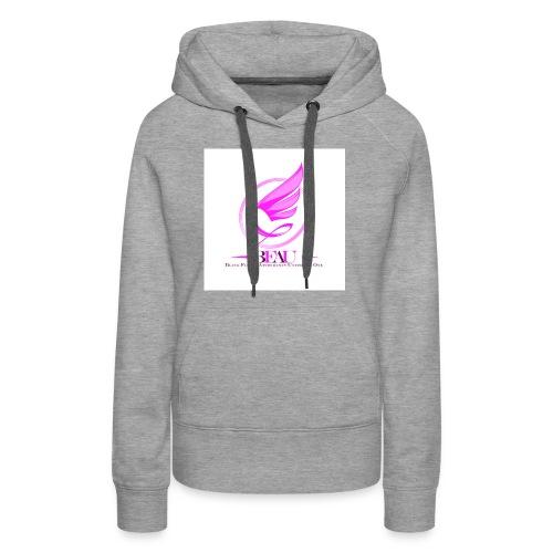 BFAU wing logo - Women's Premium Hoodie