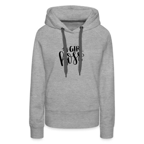 #Girl Boss - Women's Premium Hoodie