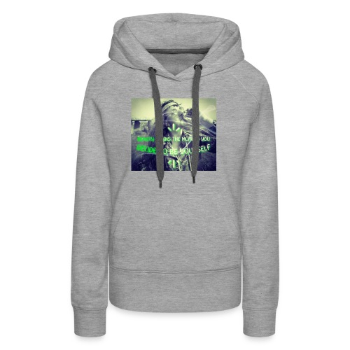 Beauty Begins The Moment You Decide... - Women's Premium Hoodie