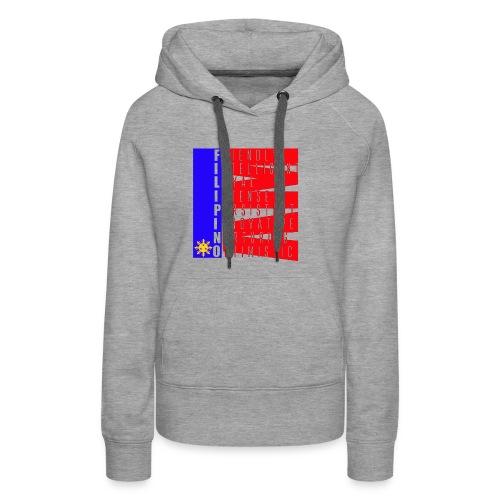 I AM FILIPINO colored - Women's Premium Hoodie