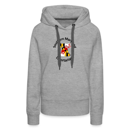 SOMD Libertarians Logo Outlined Bell No Shadow T - Women's Premium Hoodie