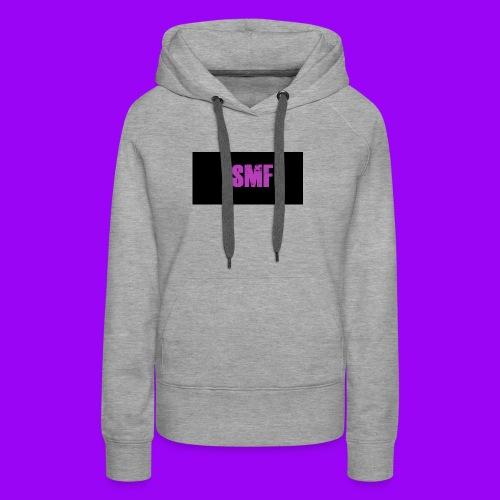 SMF purple muddy - Women's Premium Hoodie