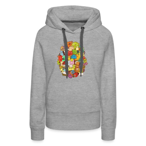 Doodle for a poodle - Women's Premium Hoodie