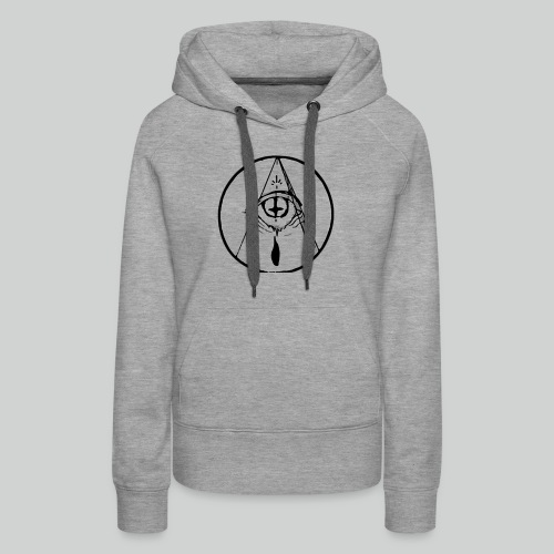 occult eye - Women's Premium Hoodie