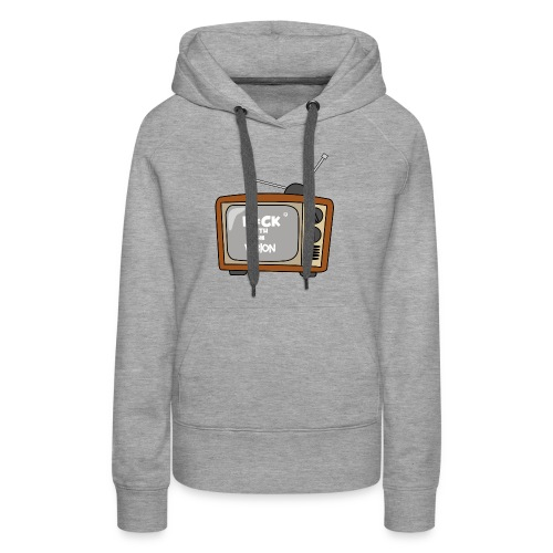 Fuck with the vision Tee - Women's Premium Hoodie