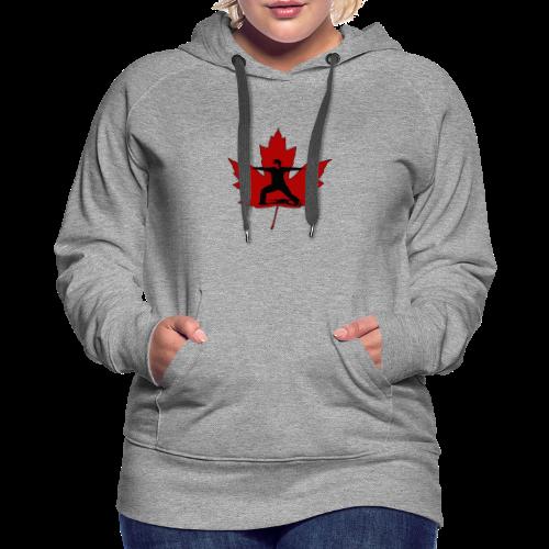 Canadian Warrior - Women's Premium Hoodie