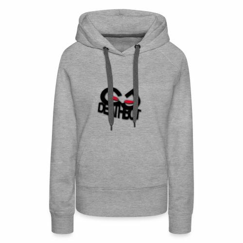 CJDEATHBOT logo - Women's Premium Hoodie