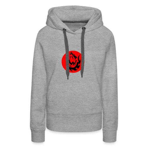 Wolf Logo - Women's Premium Hoodie
