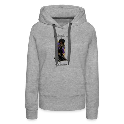 Hebrew queen readytoprint - Women's Premium Hoodie