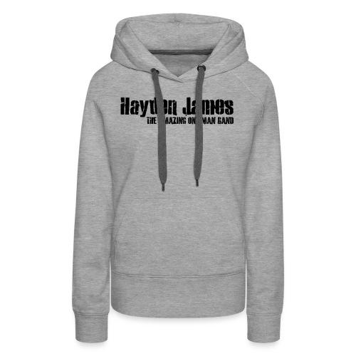 HJ Trans Logo Black 2018 - Women's Premium Hoodie