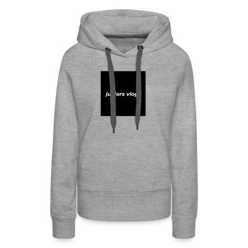 Juniors vlogs clothing - Women's Premium Hoodie