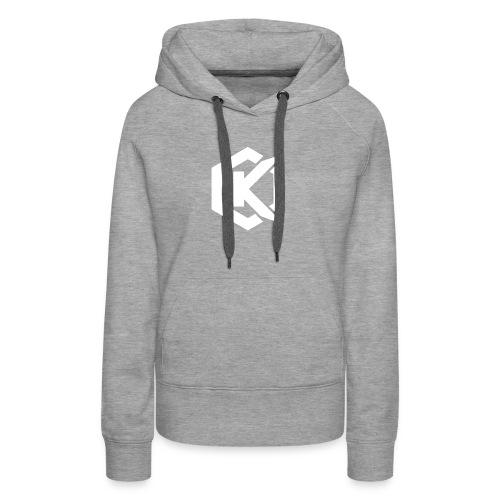 Logo de Kunsel sur Twitch et Ylutube - Women's Premium Hoodie