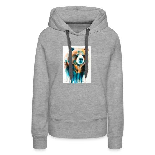 grizzly bear - Women's Premium Hoodie