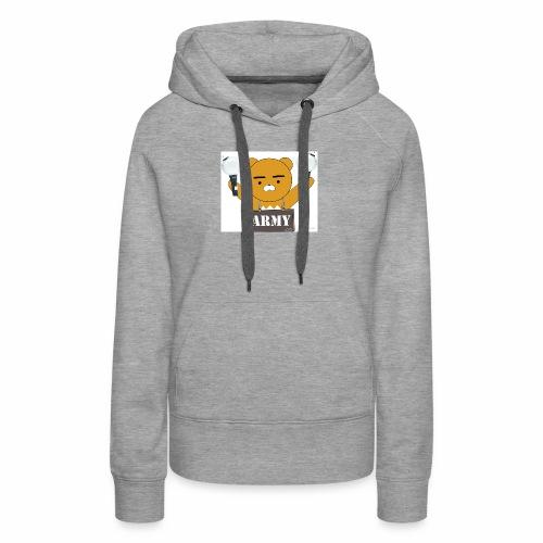 bts bear - Women's Premium Hoodie