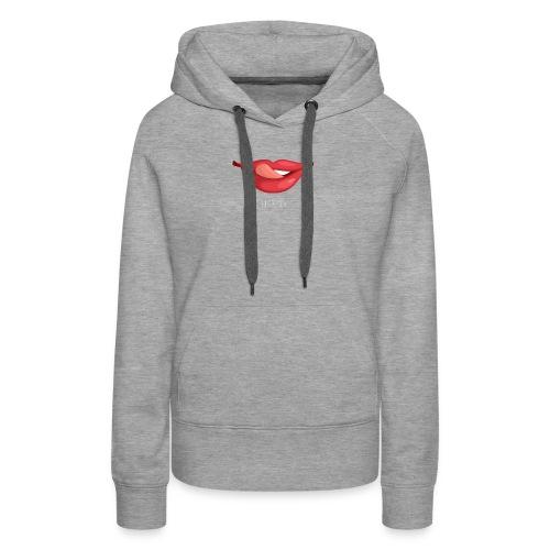 Lips Licked - Women's Premium Hoodie