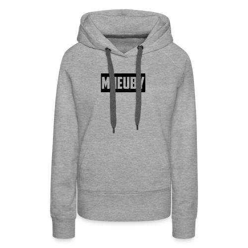Mneuby Text Logo - Women's Premium Hoodie