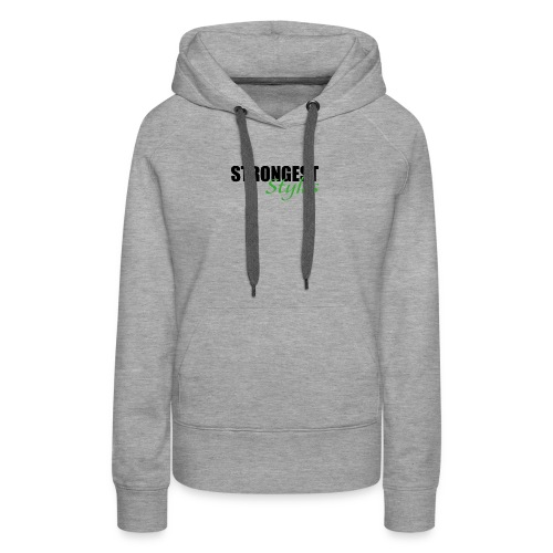 strongest styles 03 - Women's Premium Hoodie