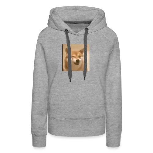 DOGE WINK - Women's Premium Hoodie