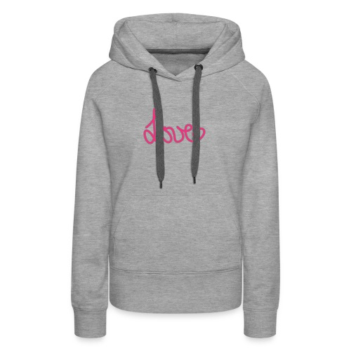 LOVE Susi - Women's Premium Hoodie
