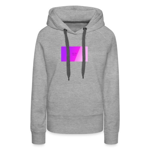 Lindsey Vlogs Button - Women's Premium Hoodie
