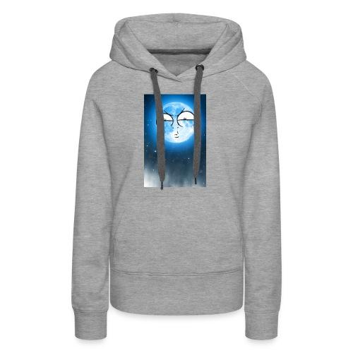 BLUE MOON UP - Women's Premium Hoodie