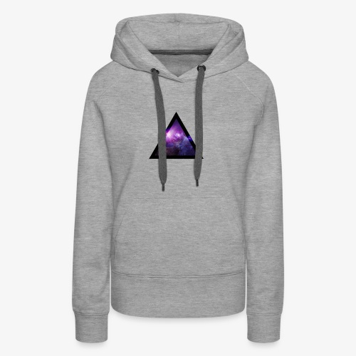 Galaxy with Deer - Women's Premium Hoodie
