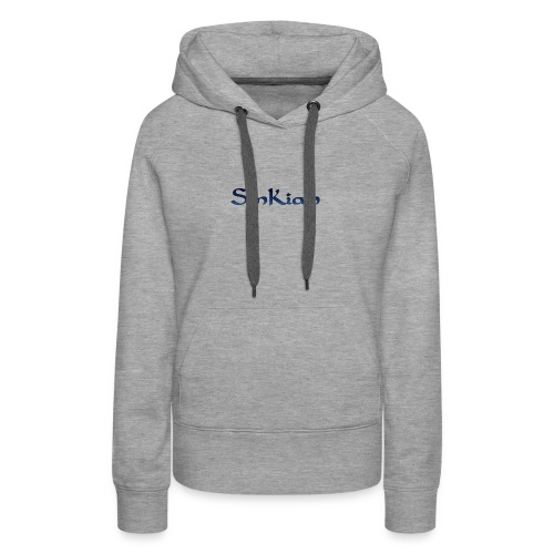 My channel name and logo - Women's Premium Hoodie