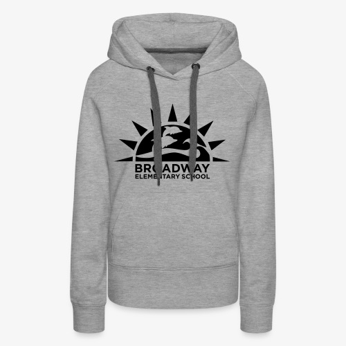 Broadway Elementary Logo - Women's Premium Hoodie
