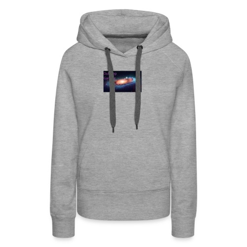 Dubstep Gaming Galaxy Design - Women's Premium Hoodie