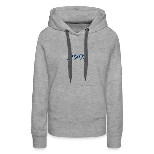 The attackers logo - Women's Premium Hoodie