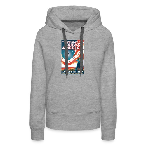 Official 2017 Eclipse Across America Gear - Women's Premium Hoodie