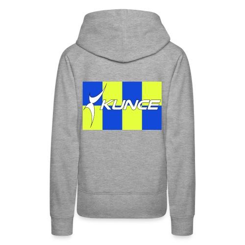 Kunce Clothing Original High Visibility Battenberg - Women's Premium Hoodie