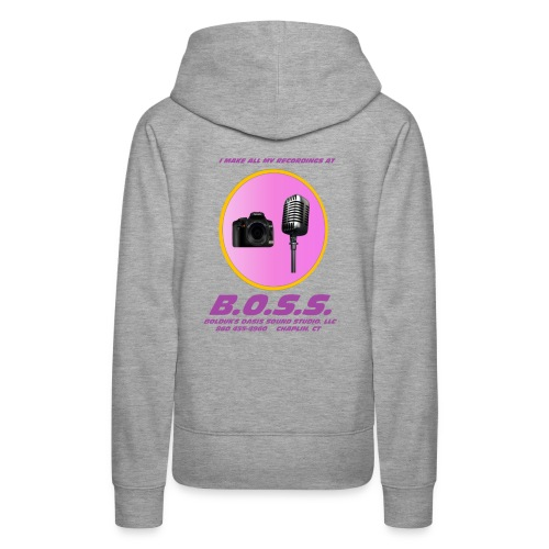 Make All My Recordings at B.O.S.S. - Women's Premium Hoodie