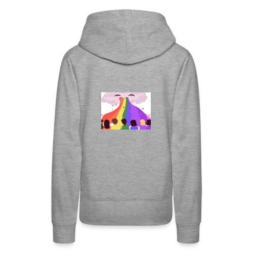 feel the rainbow - Women's Premium Hoodie