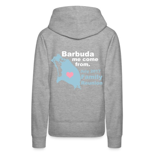 Barbuda Family Reunion - Women's Premium Hoodie