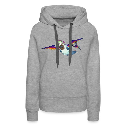 FLY WITH US - Women's Premium Hoodie
